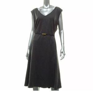 Jones New York Dress Gray 24W